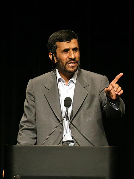 Presiden Mahmud Ahmadinejad