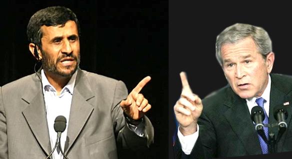 Presiden Ahmadinejad VS Presiden Bush