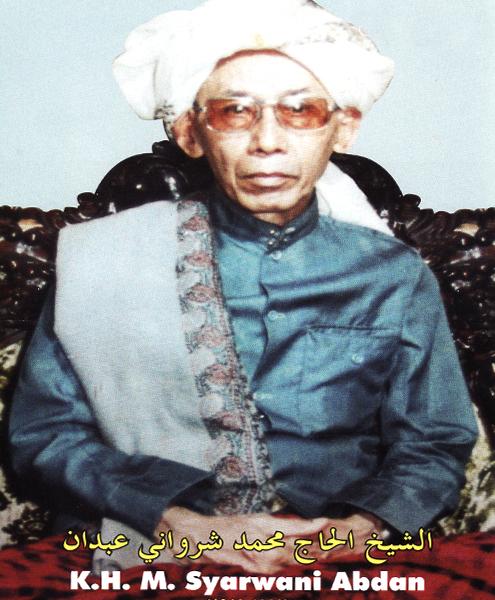 Tuan Guru Syech Muhammad Syarwani Abdan Al Banjari